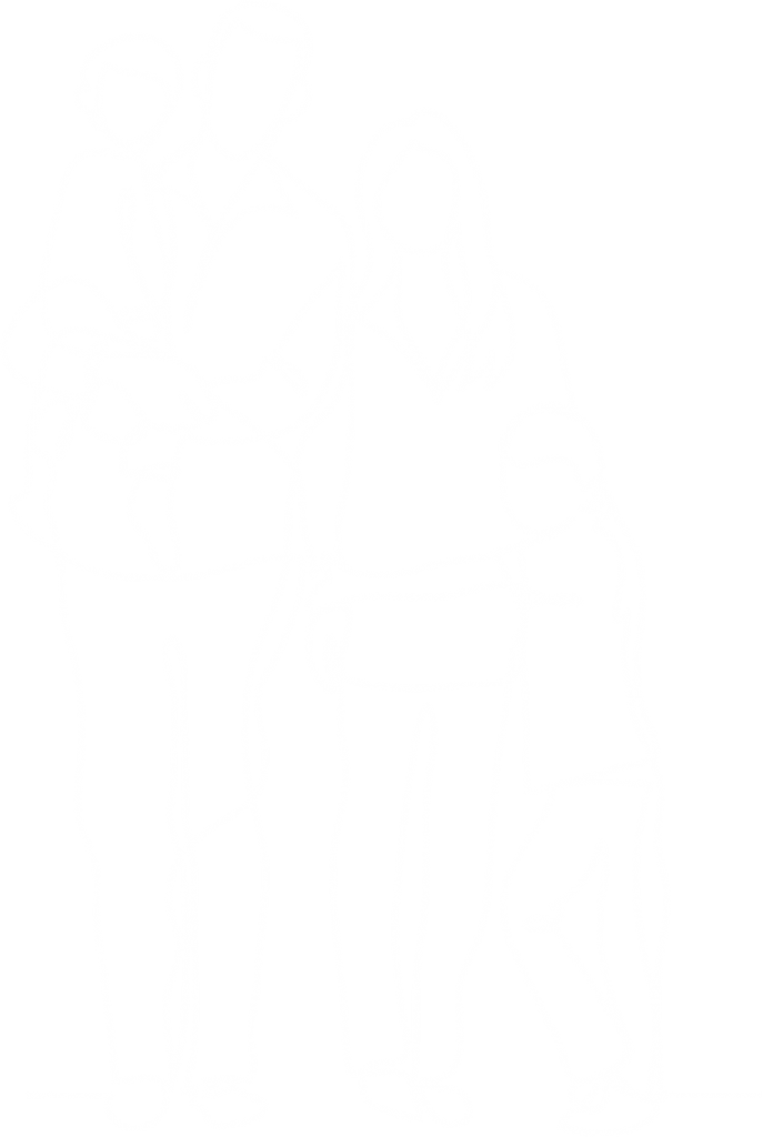 white-outlined-family
